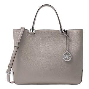Michael Kors Grey Anabelle Tote Shoulder Handbag